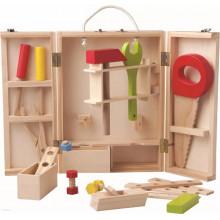 Woodyland - Drewniana skrzynka z narzędziami 26el. - 91188
