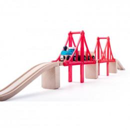 Woodyland - Podwójny most linowy - 91817