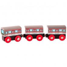 Woodyland - Drewniany pociąg - Metro 91851