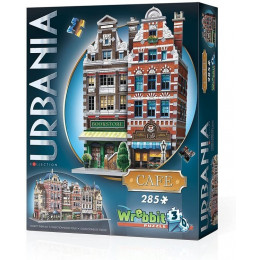 Wrebbit - Puzzle 3D - Urbania - Kawiarnia 00503