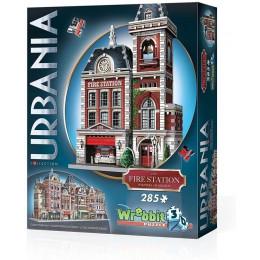 Wrebbit - Puzzle 3D - Urbania - Remiza strażacka 00505