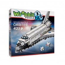 Wrebbit - Puzzle 3D Prom kosmiczny Orbiter 435 el. - 01008