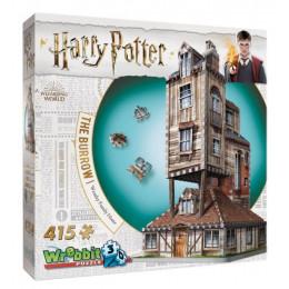 Wrebbit - Puzzle 3D - Harry Potter - Dom Weasleyów 01011