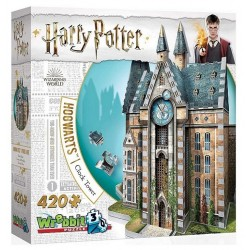Wrebbit – Puzzle 3D – Harry Potter – Wieża zegarowa 420el. 01013