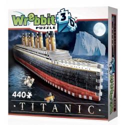 Wrebbit – Puzzle 3D – Titanic 440el. 01014