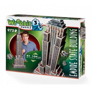 Wrebbit - Puzzle 3D - Empire State Building 975 el. - 02007