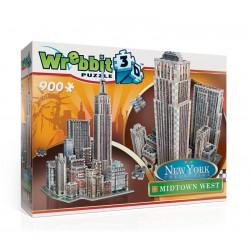 Wrebbit - Puzzle 3D - Nowy Jork - Midtown West 900 el. - 02010