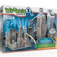 Wrebbit - Puzzle 3D - Nowy Jork - Midtown East 875 el. - 02011