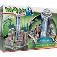 Puzzle 3D Wrebbit - Nowy Jork - Dzielnica World Trade 875el. 02012