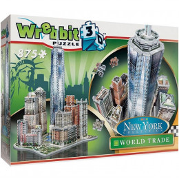 Wrebbit – Puzzle 3D – World Trade Center 875 el. – 02012