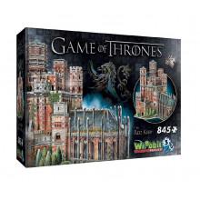Wrebbit - Puzzle 3D Gra o tron - Czerwona twierdza 845 el. - 02017