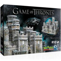 Wrebbit - Puzzle 3D - Gra o Tron - Zamek Winterfell 910el. 02018