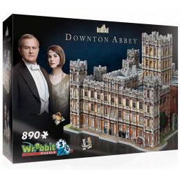 Wrebbit – Puzzle 3D – Downton Abbey 890 el. – 02019