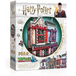 Wrebbit - Puzzle 3D - Harry Potter - Quality Quidditch Supplies  0509