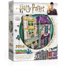 Wrebbit - Puzzle 3D - Harry Potter - Madam Malkin's 0510