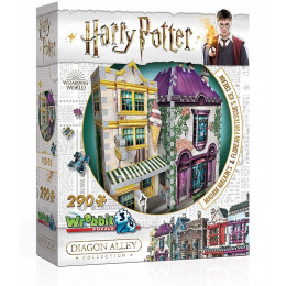 Wrebbit - Puzzle 3D - Harry Potter - Madam Malkin's 0510