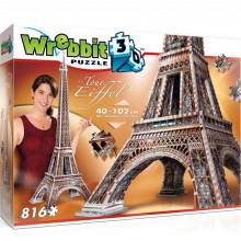 Wrebbit - Puzzle 3D - Wieża Eiffle'a 816el. - 02009