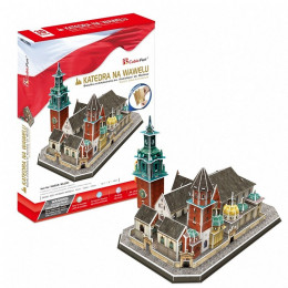 Cubic Fun - Puzzle 3D - Katedra na wawelu - 20226
