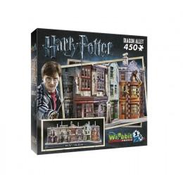 Wrebbit - Puzzle 3D Harry Potter - Ulica Pokątna 450 el. - 01010