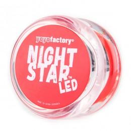 YoYoFactory YO246 - Yoyo NightStar LED - CZERWONE