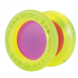 YoYoFactory YO149 - Yoyo Replay PRO żółto-fioletowe