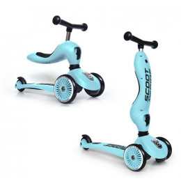 Scoot and Ride - Hulajnoga i jeździk 2w1 - Highwaykick 1 - Blueberry 96352