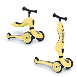 Scoot and Ride - Hulajnoga i jeździk 2w1 - Highwaykick 1 - Lemon 96354