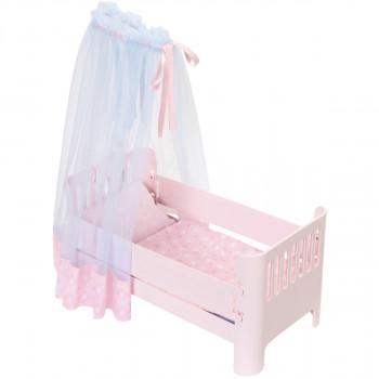 Zapf Creation - Baby Annabell - Łóżeczko dla lalek z baldachimem 700068