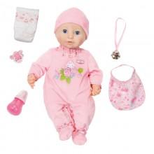 Baby Annabell - Lalka interaktywna Bobas - różowa 794401