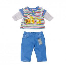 Baby Born - Komplet ubranek dla lalki chłopca - 822197