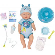 Zapf Creation -  Lalka Baby Born - Chłopiec 9 funkcji 824375