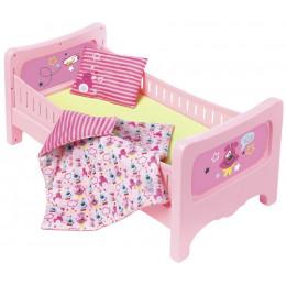 Zapf Creation - Baby Born - Łóżeczko dla lalki z pościelą 824399