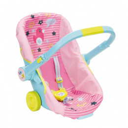 Baby Born - Nosidełko, fotelik i wózek 3w1 - 824412