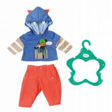 Baby Born - Komplet ubranek z pomarańczowymi spodniami - 824535