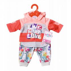 Baby Born - Pomarańczowy komplet dla lalki - 826980