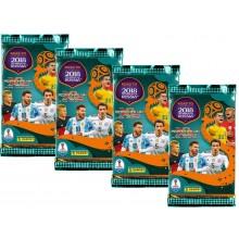 Adrenalyn XL - Karty piłkarskie Road to FIFA Russia 2018 - 4 saszetki + karta
