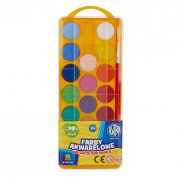 Astra - Farby Akwarelowe 18 kolorów - 0236