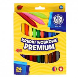 Astra - Kredki Woskowe Premium 24 kolory - 0733