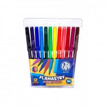 Astra - Flamastry 12 kolorów - 0228