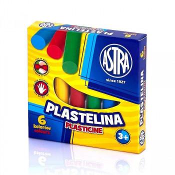 Astra - Plastelina 6 kolorów - 0071