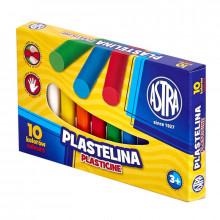 Astra - Plastelina 10 kolorów - 0088