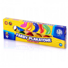 Astra - Farby Plakatowe 12 kolorów - 0539