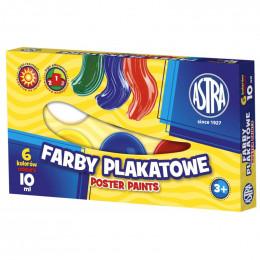 Astra - Farby Plakatowe 6 kolorów - 0515