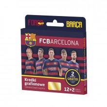 Astra - Kredki grafionowe FC Barcelona - 4397