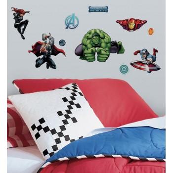 RoomMates Naklejki na Ścianę Wielokrotnego Użytku 2242 - Avengers