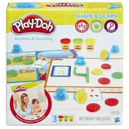Ciastolina Play-Doh B3406 Modeluj i ucz się - Liczby i liczenie