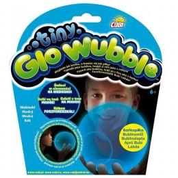 Tiny Wubble 72330 Bańkopiłka świecąca w ciemności - niebieska