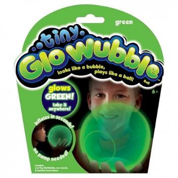Tiny Wubble 72330 Bańkopiłka świecąca w ciemności - zielona