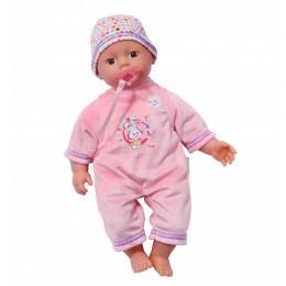 ZAPF CREATION Lalka BABY BORN Super miękka różowa 9753