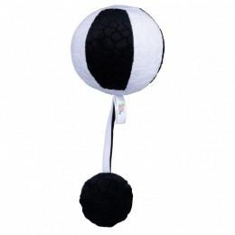 Balibazoo – Czarno-biała piłka z piszczałką i grzechotką – 80305